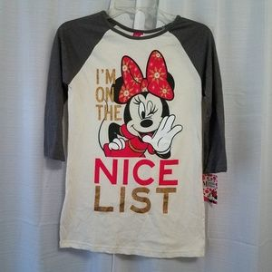 Disney's minnie mouse graphic tshirt size XL